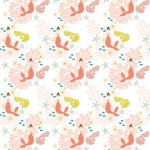 Coral Reef Mermaids // Brunette // Small