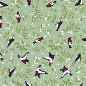 Mistletoe is for the Ditsy Birds