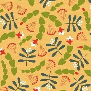 Cactus and mistletoe