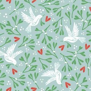 Mistletoe and Doves