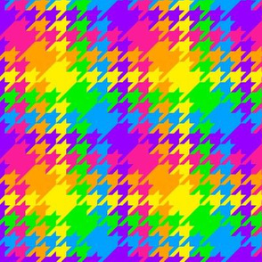 Rainbow Houndstooth 1