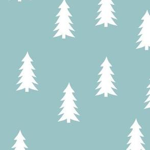 trees on blue echo     adventure camp