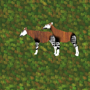 Teak Okapi for Pillow