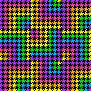 Rainbow Houndstooth 2