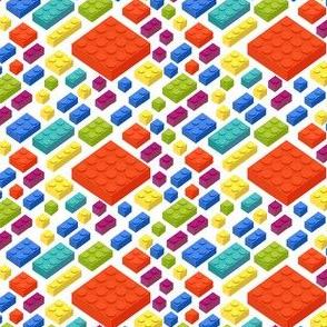 Legos 3D Illustration