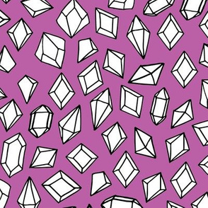 crystals // gemstones fabric gem purple pastel fabrics andrea lauren design gems