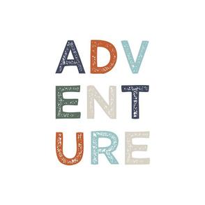 "18"" Adventure Pillow/Lovie Panel"