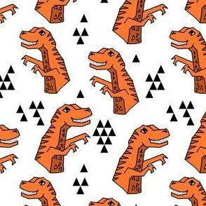 dinosaurs // dino trex t-rex tyrannosaurus rex fabric andrea lauren
