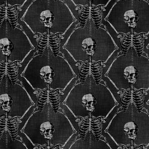 Skeletons Rising-black