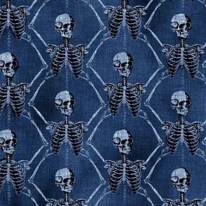Skeletons Rising-blue