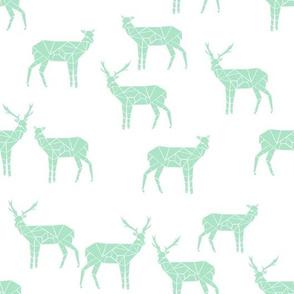deer // mint fabric deer design mint fabric nursery design simple deer design