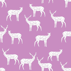 deer //  light purple fabric andrea lauren nursery pastel fabric andrea lauren
