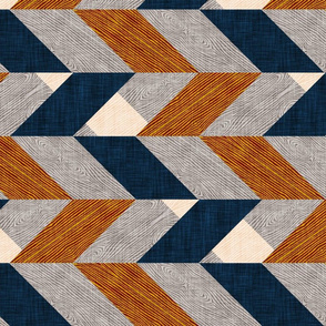 Parquetry (LARGE) RAILROAD