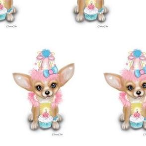 Chihuahua Birthday Girl M