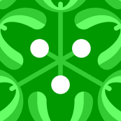 mistletoe 3m : emerald green