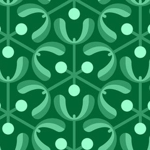 mistletoe 3m : jade green