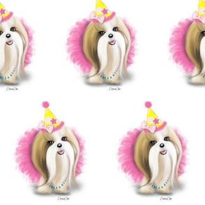 Shih Tzu Birthday Girl