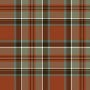 "Stewart / Stuart #3 weathered ancient tartan, 10"""