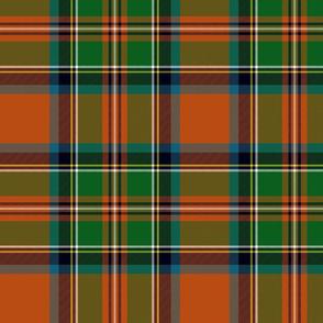 """Stewart / Stuart #3 ancient tartan, 10"""""""