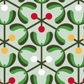 mistletoe 3m3 : christmas greenery