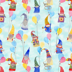 Floating Gnomes