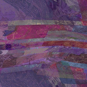 Strata -abstract-purple
