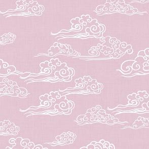 Oriental Clouds in Ballerina Pink