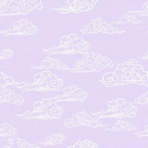 Oriental Clouds in Lilac