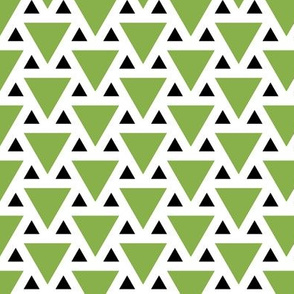 triangle 2:1 - green