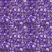 420 Hiphop Paisley Purple