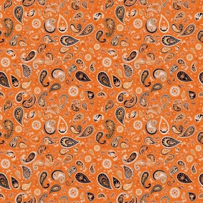 420 Hiphop Paisley Orange