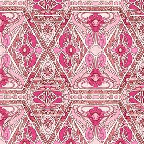Art Nouveau Goes Pink
