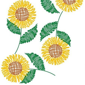 sunflower_crosshatch_2