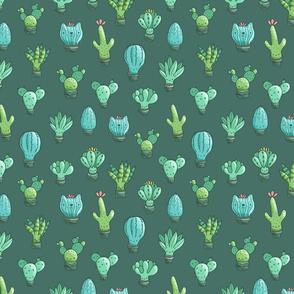 cacti pattern MEDIUM