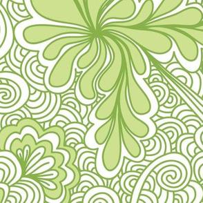 Greenery Zentangle