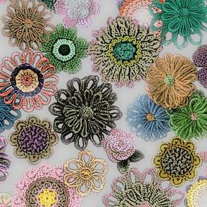 Floral yarn