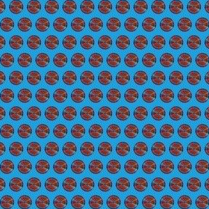 Plaid Dots on Hex Code #1da0dc