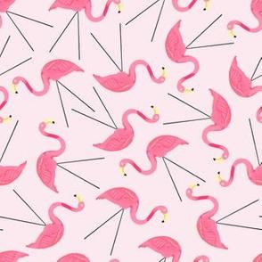 Lawn Flamingos - pink