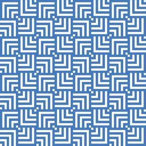 Chinoiserie Maze Pale Blue