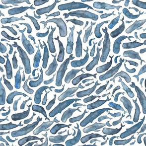 realistic_whales_repeat_pattern
