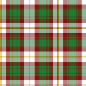 Prince Edward Island dress tartan, 6""