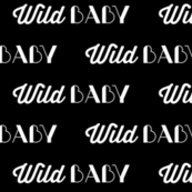 Wild Baby // Black // Cool Babies Collection