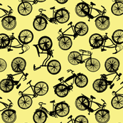 Vintage Bicycles // Yellow