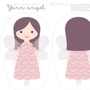 yarn angel cut and sew