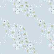 needlepoint snowfall
