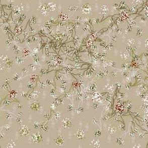 Tiny print floral