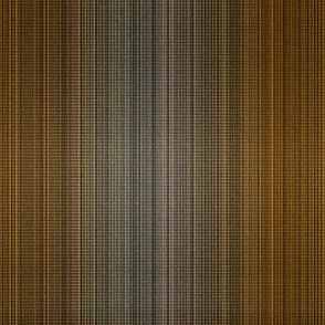 Warp weft copper ombre stripes