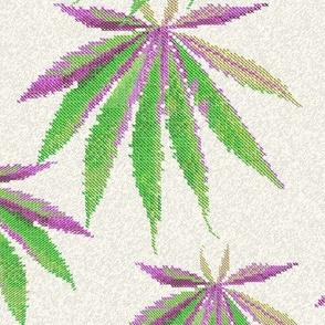 Cross-Stitch Cannabis
