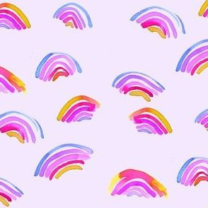 double purple rainbow