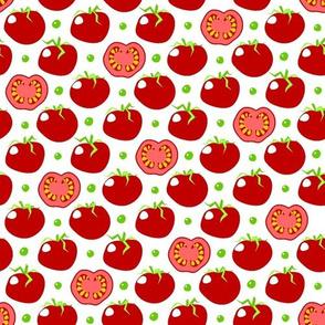 Pea'n'tomato - piselli e pomodori